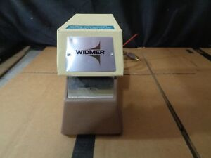 Model T 3 Electronic Time Date Stamp By Widmer W Key need Ink
