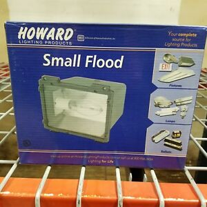 Howard Sfl 70 mh 4t Small Flood Fixture 100w Metal Halide 120 208 240 277 Nos