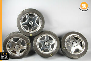 Mercedes R170 Slk230 Clk430 Clk55 Amg Rim Wheel Set 7 5x17 8 5x17 Staggered Oem