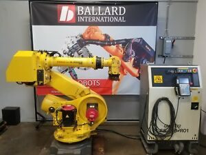 Fanuc R 2000ia 165f Robot Complete With Rj3ib Controller Complete System