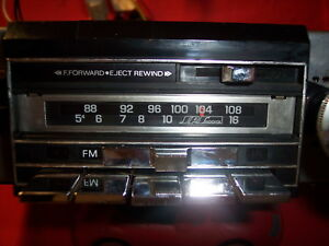 Vintage Gm 2700 Clone Am fm Cassette Car truck Stereo Audiovox Restored Tunes