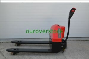 Full Power Electric Pallet Jack 3 300 Lb Capacity