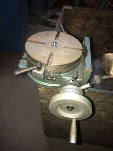 H V 8 Inch Rotary Table Nice Shape