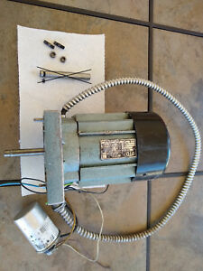 Spindle Motor For Emco Maximat Vertical Milling Head