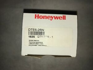 Honeywell Dte6 2rn2 Micro Switch Limit Switch 125 250v ac