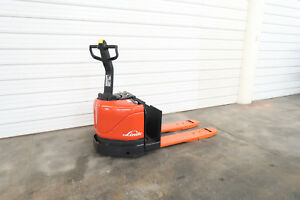 Linde Ew60 02 6 000 Electric Pallet Jack No Battery Demo Unit Forklift