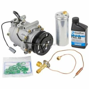 Ac Compressor W A C Repair Kit For Honda Civic Cr V 1997 1998 1999 2000