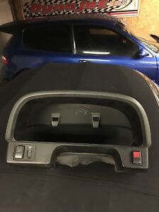 88 89 Civic Wagon Bezel Gauge Cluster Cover Blue 88 91