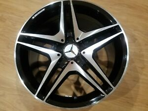 2008 2016 18 Mercedes C Class Amg Rear Wheel Rim 18x9 5
