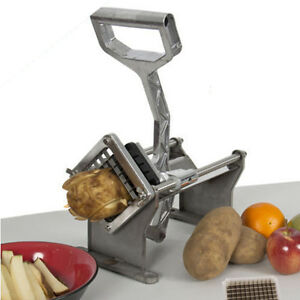 Aluminum Alloy Potato French Fry Fruit Vegetable Cutter Slicer Commercial Tools