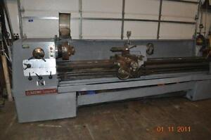17 X 120 Clausing Colchester Engine Lathe 14 4 Jaw Chuck