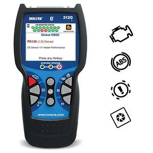 Innova 3120f Code Reader Scan Tool With Abs And Bluetooth For Obd2 Vehicle