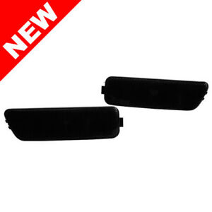 99 05 Vw Mk4 Golf Jetta Oem Factory Style Front Bumper Side Lights Black