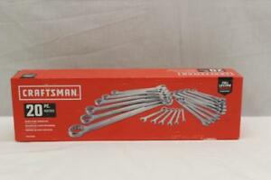 Craftsman Cmmt12068 Metric 12 Point Combination Wrench 20 Piece Set New