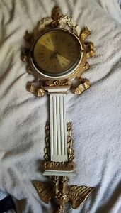 Grow And Cuttle Wood Decorative Frame W Clock Does Not Work For Repair