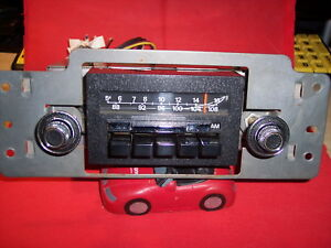Vintage Audiovox Clone Ford Am fm Stereo Radio Working Car Truck Bronco Mustang