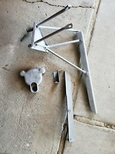 1960 1966 Chevy Truck Swb Step Spare Tire Hardware W Rare Lock Chevrolet