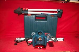 Bosch Grl 240hv Professional Self Leveling Rotary Laser W tripod cp1045105