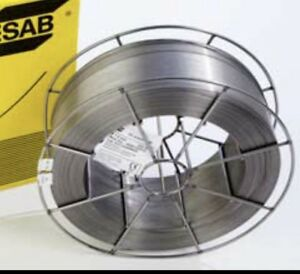 33 Lb Spool Esab Shield bright E308lt1 1 t1 4 Stainless 045 Mig Welding Wire