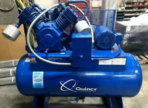 Quincy Qt 15 Air Compressor 10hp 120 Gal Tank