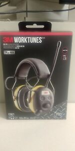 Brand New 3m Worktunes Pro Am fm Hearing Protector Headphones