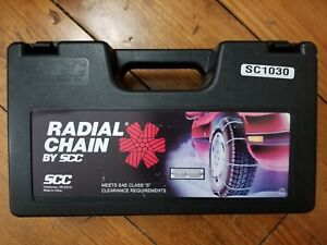 Security Chain Company Sc1030 Radial Chain Cable Traction Tire Chain Set Of 2