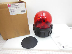 Federal Signal 371 120r Industrial Warehouse Lumber Mill Aviation Beacon Light
