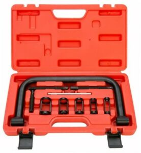 Auto Valve Spring Compressor C Clamp Tool For Motorcycle Atv Car Small Engine