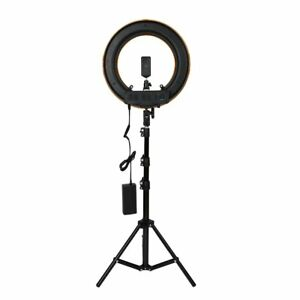 12inch Photography Studio Dimmable Led Ring Light With Holder Mount Jc