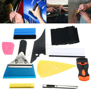 28pcs Car Window Tint Tools Kit Vinyl Film Tinting Squeegee Scraper Applicator