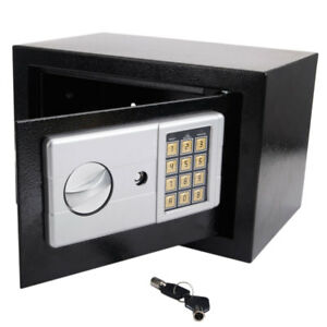 12 Digital Electronic Wall Safe Box Keypad Lock Home Security Long Cycle Life
