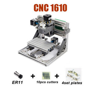 Upgraded Small Cnc 1610 Laser Milling Machine With New Better Main Board