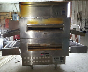 Middleby Marshall Natural Gas Ps360 Double Stack deck Conveyor Pizza Oven