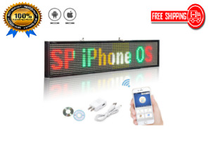 50cm P5mm Led Sign Programmable Scrolling Message Led Display Board Display
