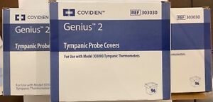 Genius 2 Tympanic Thermometer Probe Cover 303030 Qty 96 Per Box new 5 Pack