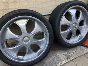 Used 24 Inch Wheels And Tires In Great Condition