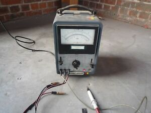 Hp Model 412a Dc Vacuum Tube Voltmeter