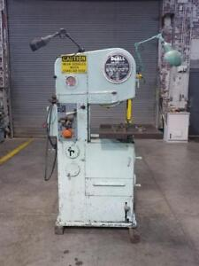 Doall 16 2 Vertical Contouring Band Saw For Metal Cutting Extra Guides