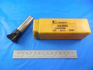 New Kennametal Kipr 0 75 sd2 6 60 Indexable Chamfer Mill 3 4 Shank Cnc Milling