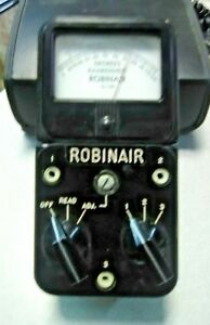 Vintage Simpson Electric robinair Temperature Meter 12 139