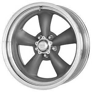 17x8 American Racing Torq Thrust Ii 2 D Mag Gray Aluminum Wheel 5x4 5 Vn2157866
