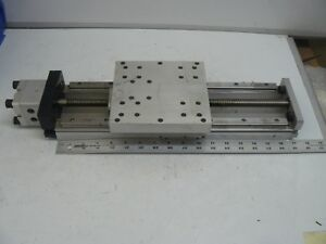 Linear Stage 9 3 4 Inch Travel 6 1 2 X 6 Inch Top Thk A3j Rails