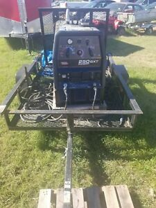 Lincoln Electric 250gxt Ranger Camo Welder generator With Black Trailer C zz