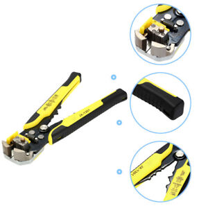 Electrical Wire Connector Terminal Crimping Tool Crimper Stripper 0 2 6mm Awg