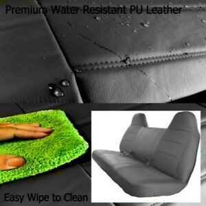 F23 Pubk Ford F Series Regular Or Super Cab Front Or Rear Solid Bench Seat Cover