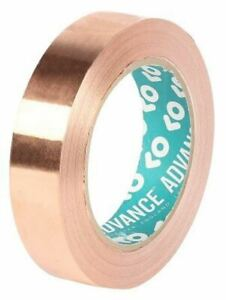 Advance Tapes At528 Conductive Copper Tape 25mm X 33m