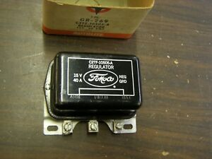 Nos Oem Ford 1958 1963 Truck Voltage Regulator 1959 1960 1961 1962 61 Tbird Bk