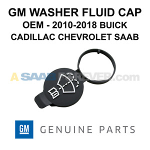 New Oem Gm Washer Fluid Cap Fits 10 18 Buick Cadillac Chevrolet Genuine 13227300