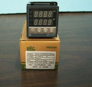 Rkc Rex c100fk02 m an 0 400c Relay Out Temperature Control Brand New Free Ship