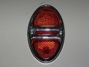 1931 1932 Chevrolet 1931 40 Chevy Truck Taillight Bezel And Glass Lens Nos R